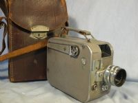 '   Zeiss Ikon Movikon K16 -Sonnar 2.5cm LENS-NICE- ' Zeiss Ikon Movikon K16 Cased + Zeiss Sonnar 2.5cm Lens -NICE RARE GREY VERSION- £119.99